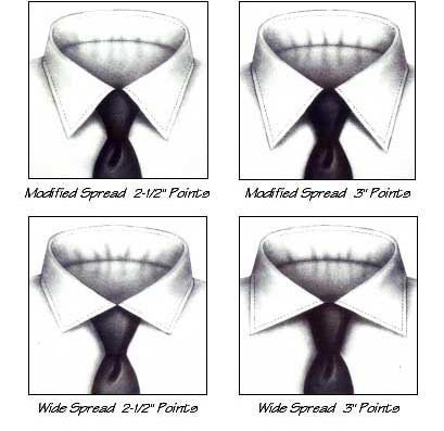 Custom Dress Shirt Collars 2