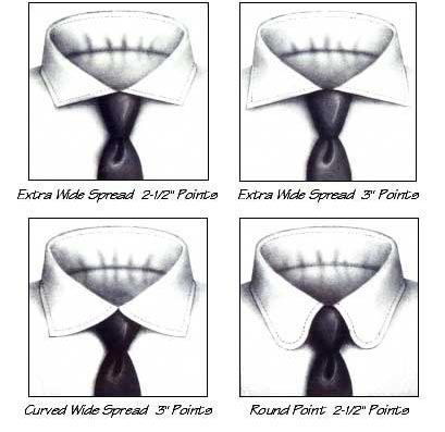 Custom Dress Shirt Collars 3