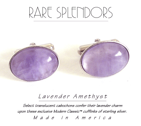 Lavender Amethyst Wedding Ideas™ Cufflinks